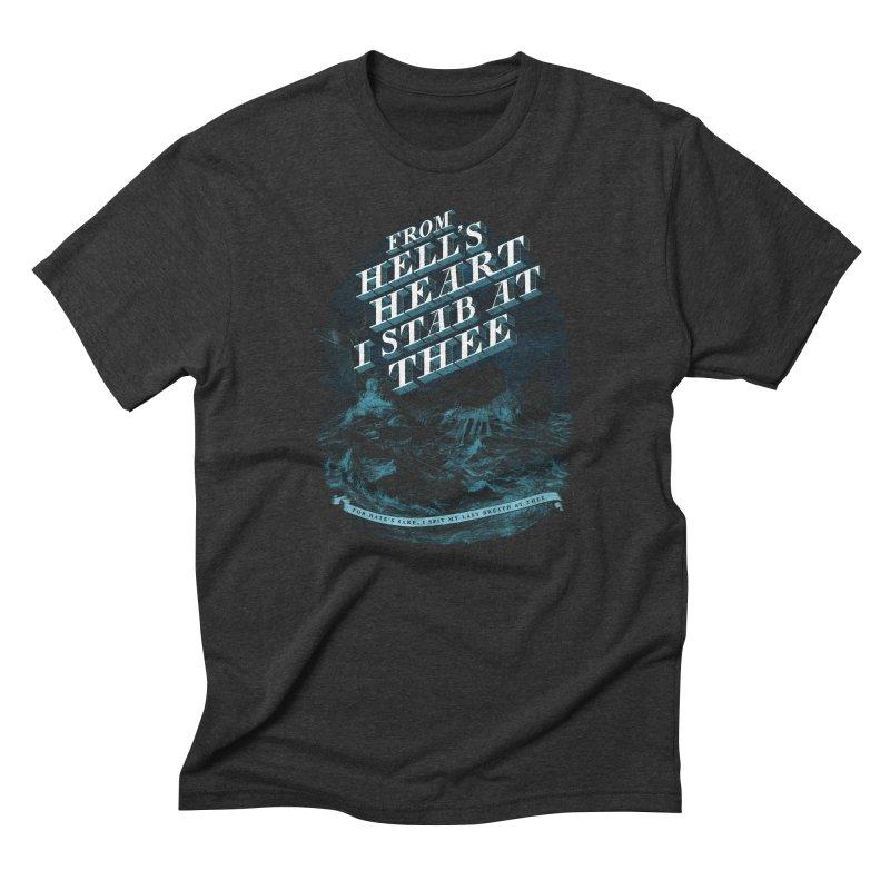 From Hell's Heart Men's Triblend T-Shirt by Threadless T-shirt Artist Shop - Melmike - Michael
