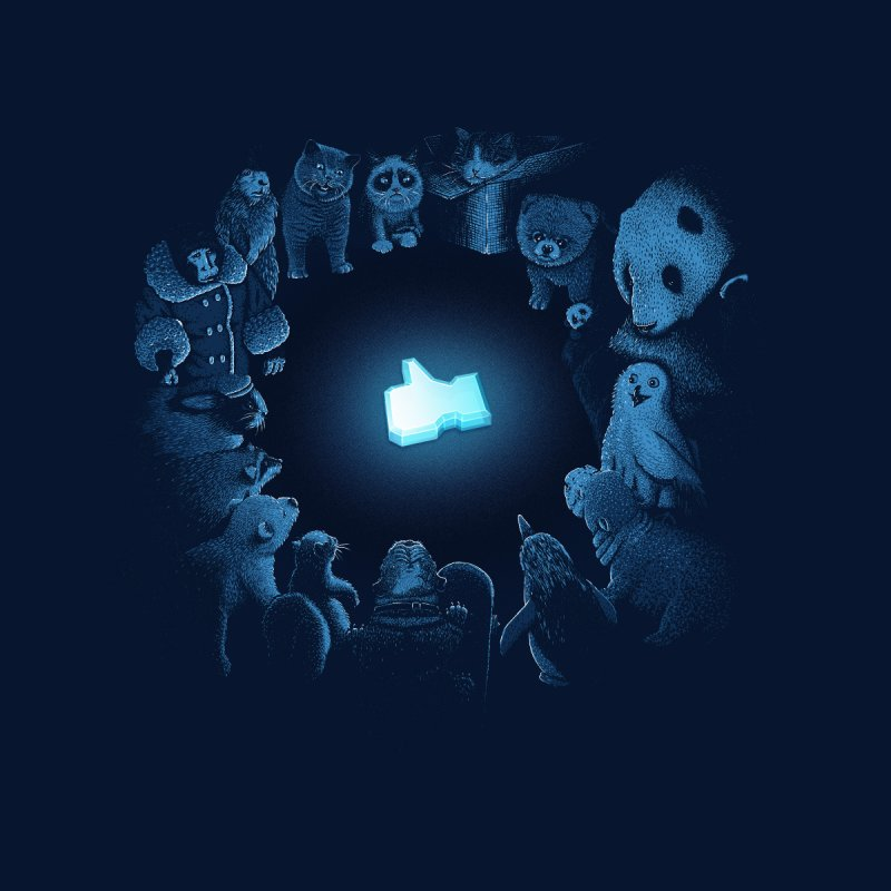Kings of the Internets by Threadless T-shirt Artist Shop - Melmike - Michael