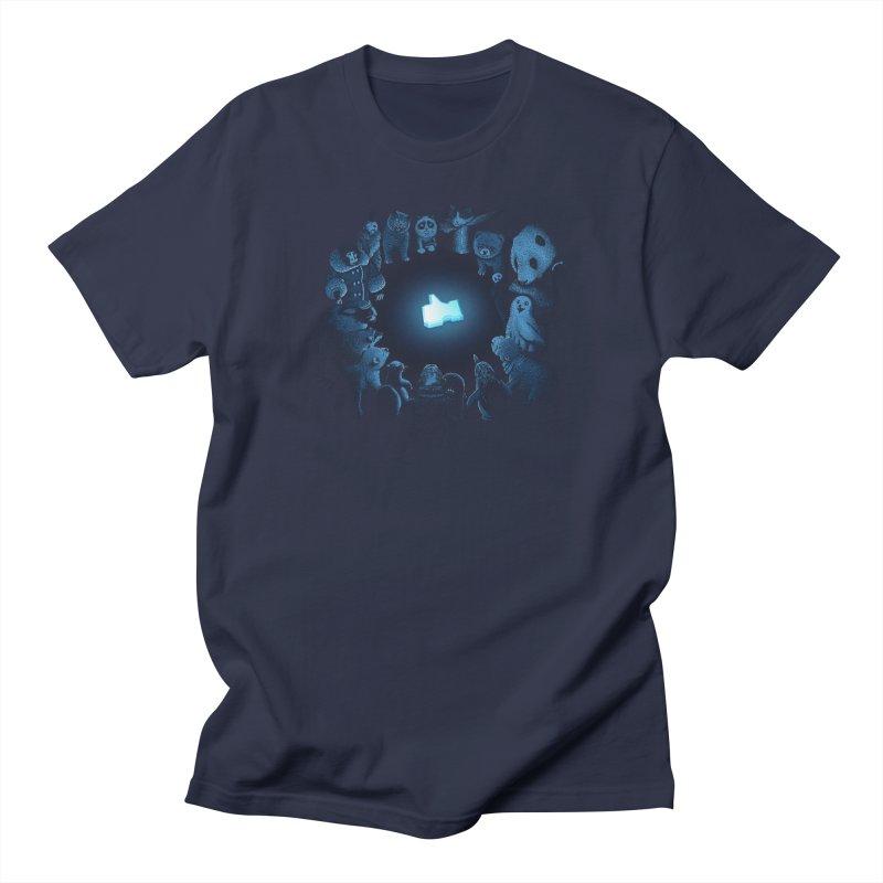 Kings of the Internets Men's T-Shirt by Threadless T-shirt Artist Shop - Melmike - Michael