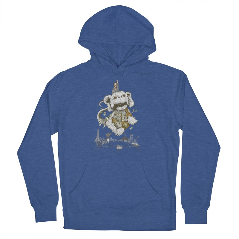Luck Dragon Men's Pullover Hoody by Threadless T-shirt Artist Shop - Melmike - Michael