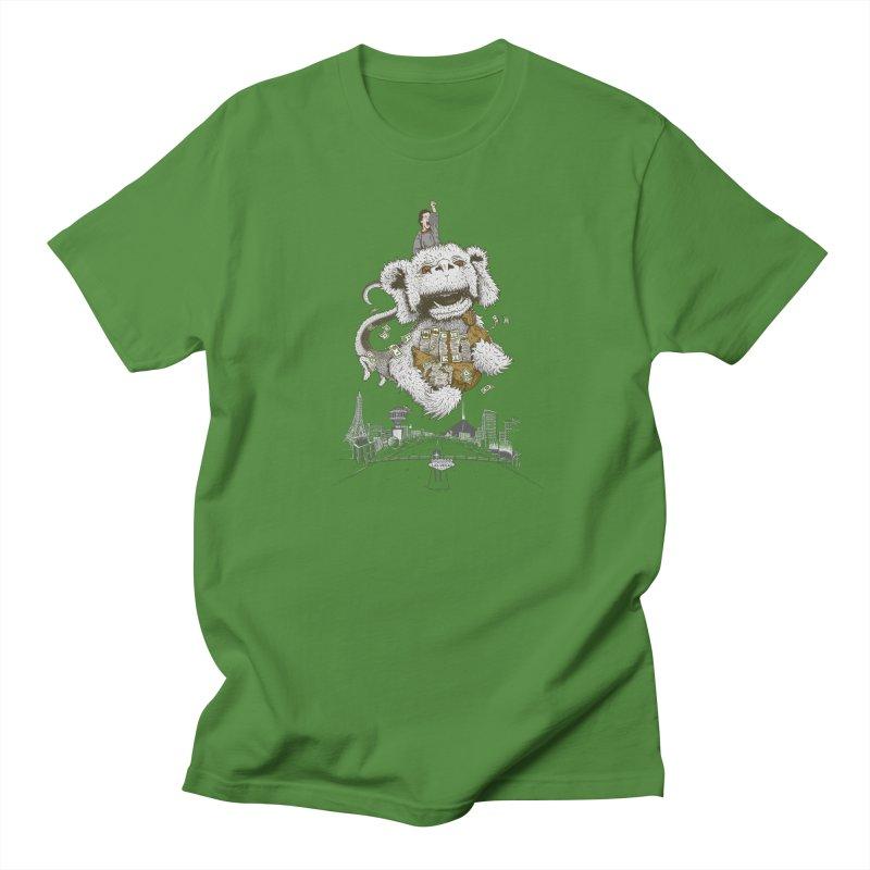 Luck Dragon Men's  by Threadless T-shirt Artist Shop - Melmike - Michael