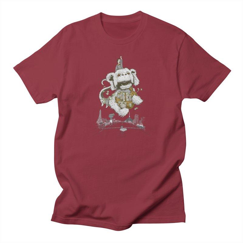 Luck Dragon Men's Regular T-Shirt by Threadless T-shirt Artist Shop - Melmike - Michael