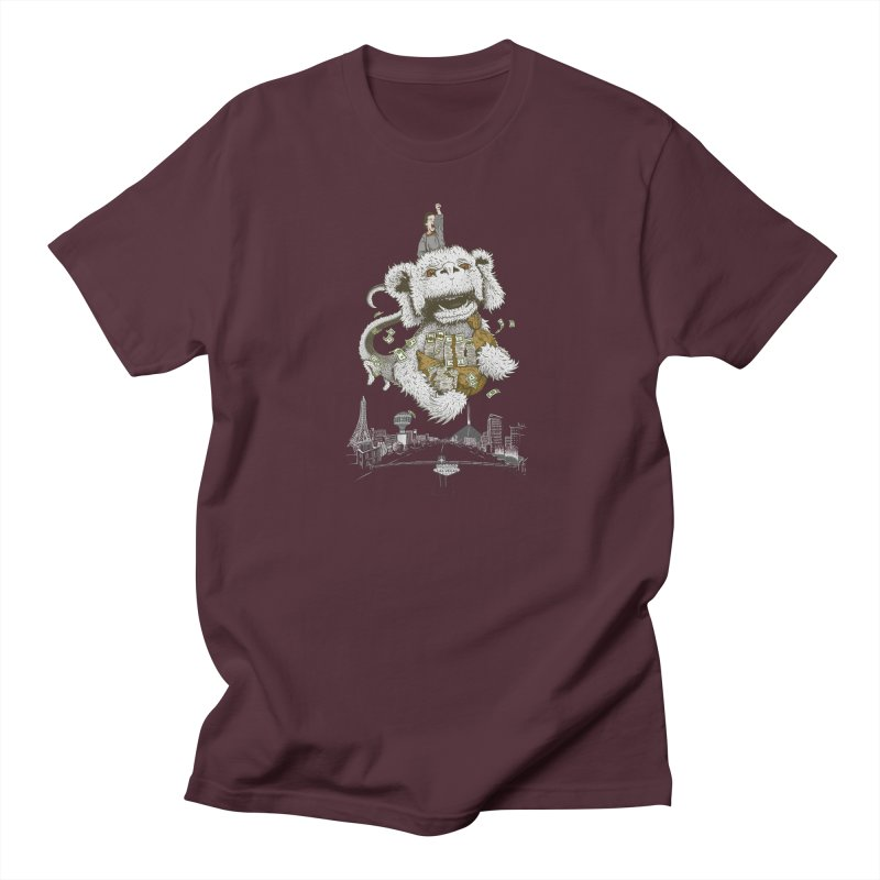 Luck Dragon Men's T-shirt by Threadless T-shirt Artist Shop - Melmike - Michael