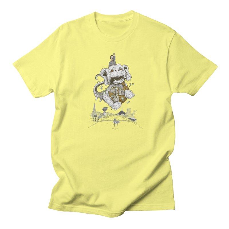 Luck Dragon Men's T-Shirt by Threadless T-shirt Artist Shop - Melmike - Michael