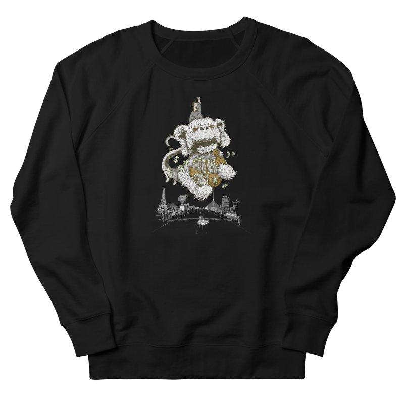 Luck Dragon Men's French Terry Sweatshirt by Threadless T-shirt Artist Shop - Melmike - Michael