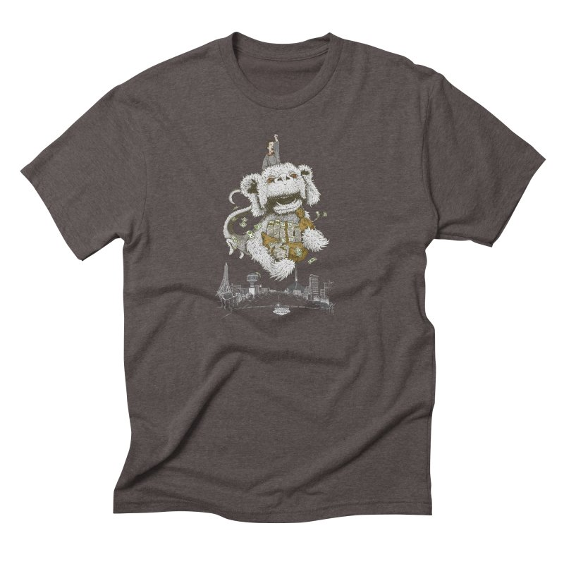 Luck Dragon Men's Triblend T-Shirt by Threadless T-shirt Artist Shop - Melmike - Michael