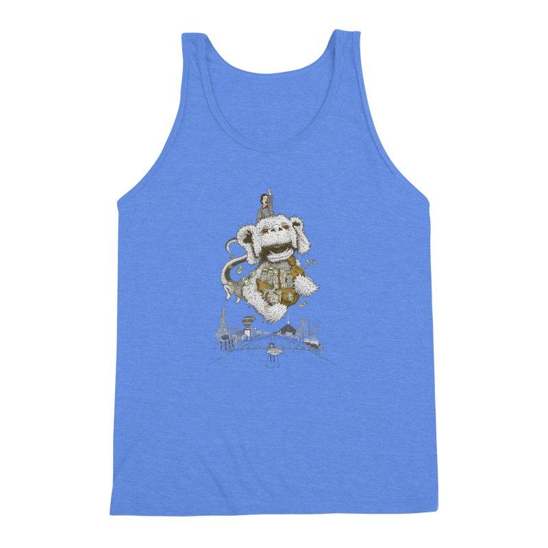 Luck Dragon Men's Triblend Tank by Threadless T-shirt Artist Shop - Melmike - Michael