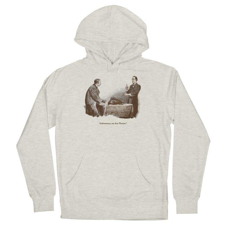 Sedimentary, My Dear Watson Men's French Terry Pullover Hoody by Threadless T-shirt Artist Shop - Melmike - Michael