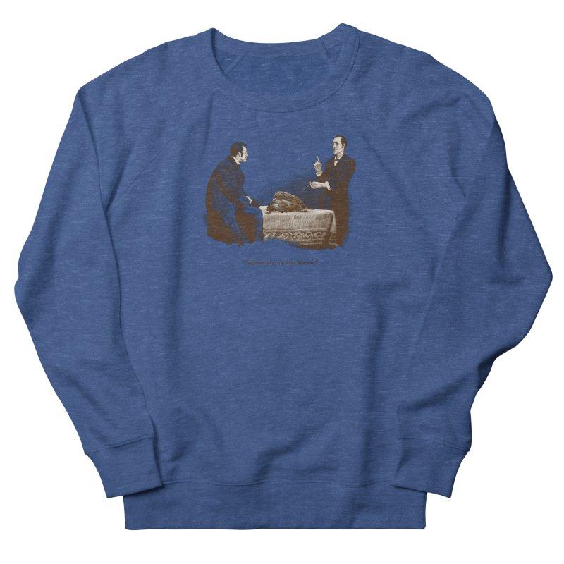 Sedimentary, My Dear Watson Men's French Terry Sweatshirt by Threadless T-shirt Artist Shop - Melmike - Michael