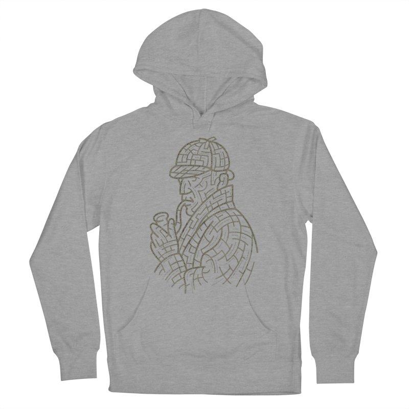 Sherlock's Map Men's Pullover Hoody by Threadless T-shirt Artist Shop - Melmike - Michael