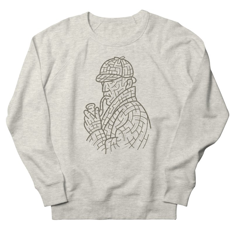 Sherlock's Map Men's Sweatshirt by Threadless T-shirt Artist Shop - Melmike - Michael