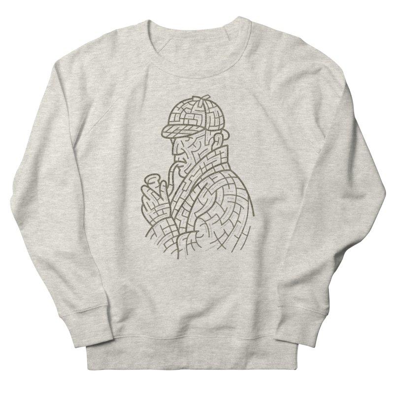 Sherlock's Map Men's French Terry Sweatshirt by Threadless T-shirt Artist Shop - Melmike - Michael