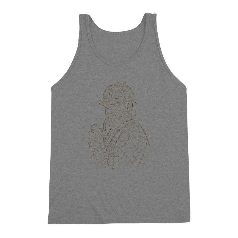 Sherlock's Map Men's Triblend Tank by Threadless T-shirt Artist Shop - Melmike - Michael