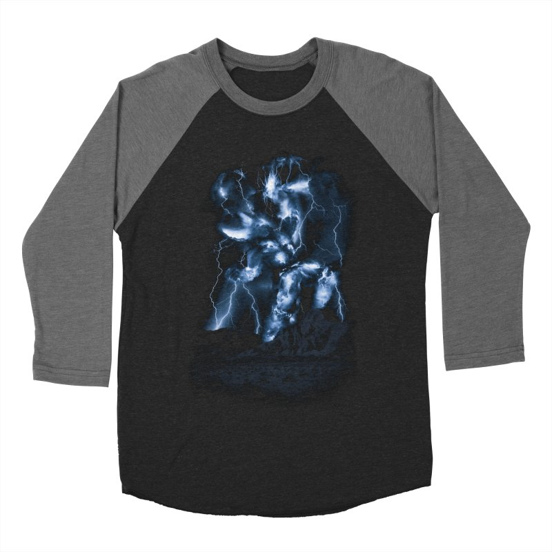 Skyfather Rising Men's Baseball Triblend T-Shirt by Threadless T-shirt Artist Shop - Melmike - Michael