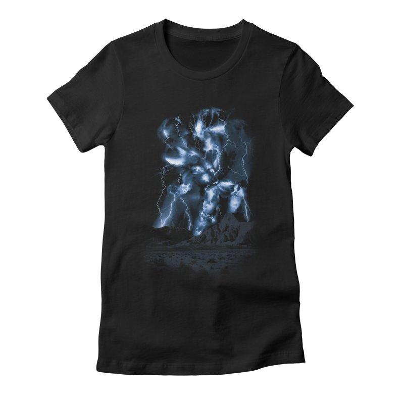 Skyfather Rising   by Threadless T-shirt Artist Shop - Melmike - Michael