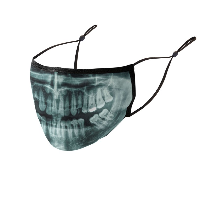 Face the X-Ray Accessories Face Mask by MELOGRAPHICS