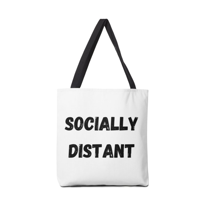 Socially Distant Accessories Bag by MELOGRAPHICS