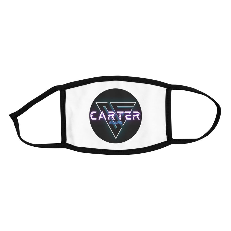Carter Gaming   Circle Accessories Face Mask by MELOGRAPHICS