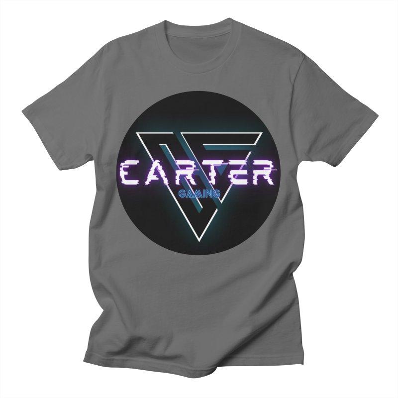 Carter Gaming | Circle Men's T-Shirt by MELOGRAPHICS