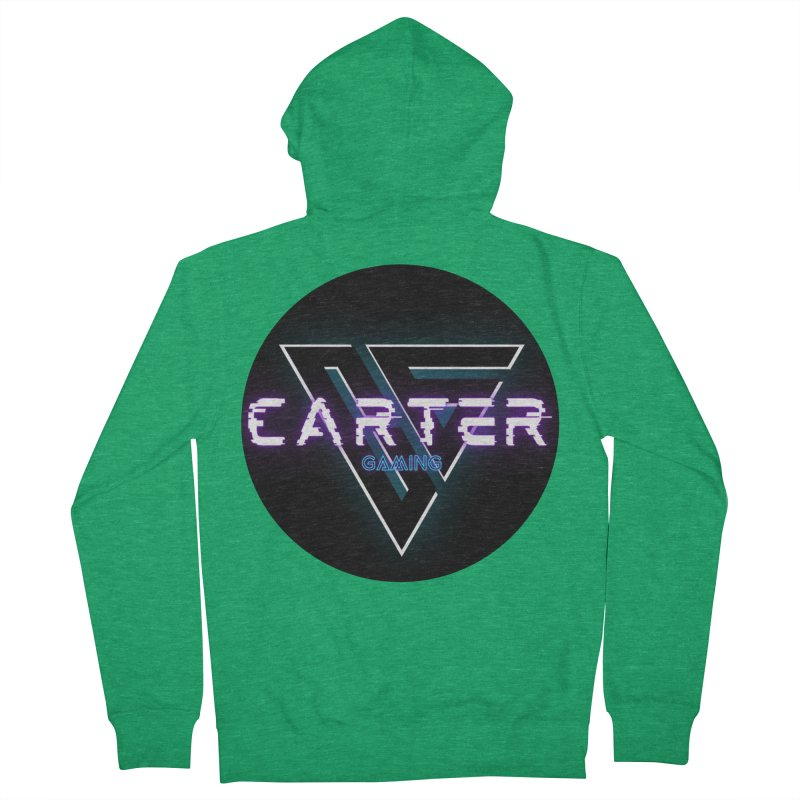 Carter Gaming | Circle Women's Zip-Up Hoody by MELOGRAPHICS