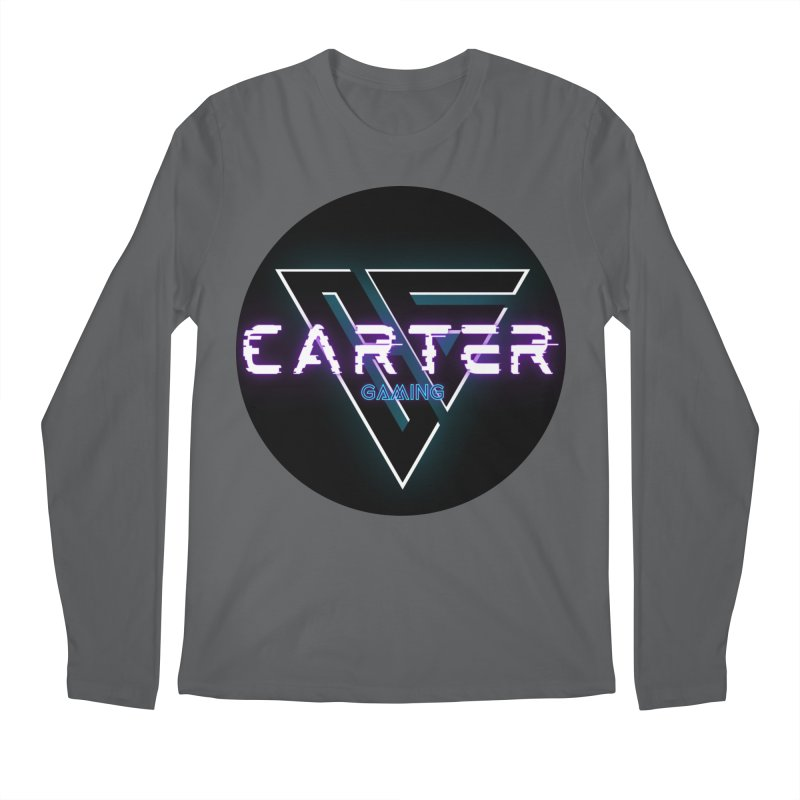 Carter Gaming | Circle Men's Longsleeve T-Shirt by MELOGRAPHICS
