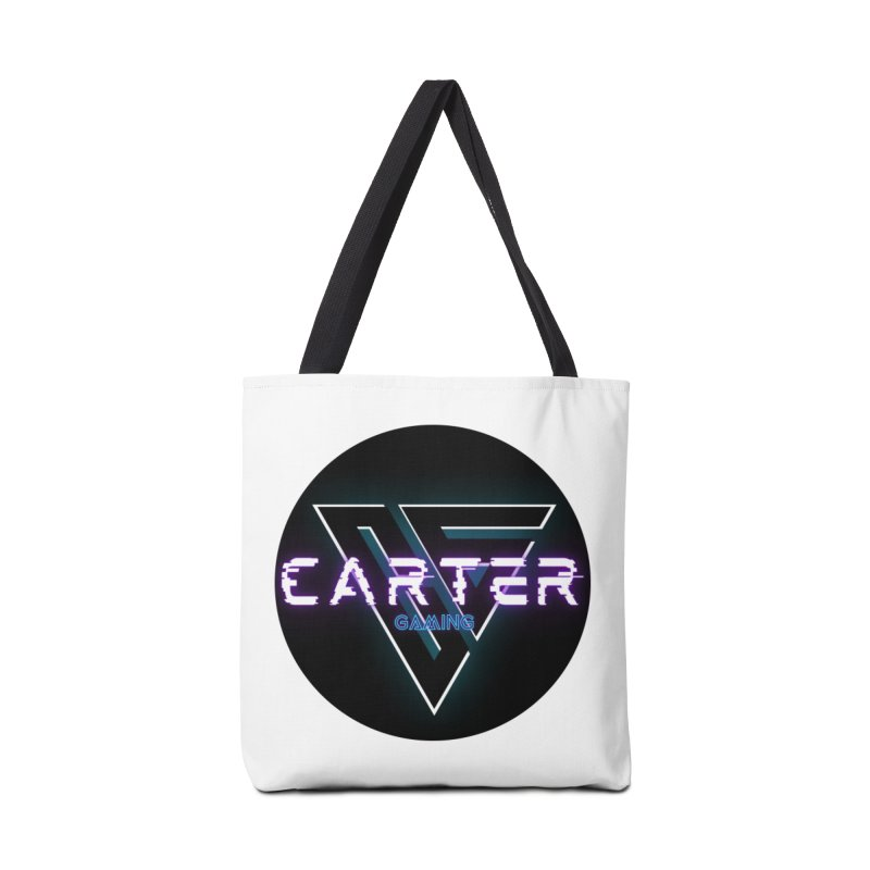 Carter Gaming | Circle Accessories Bag by MELOGRAPHICS