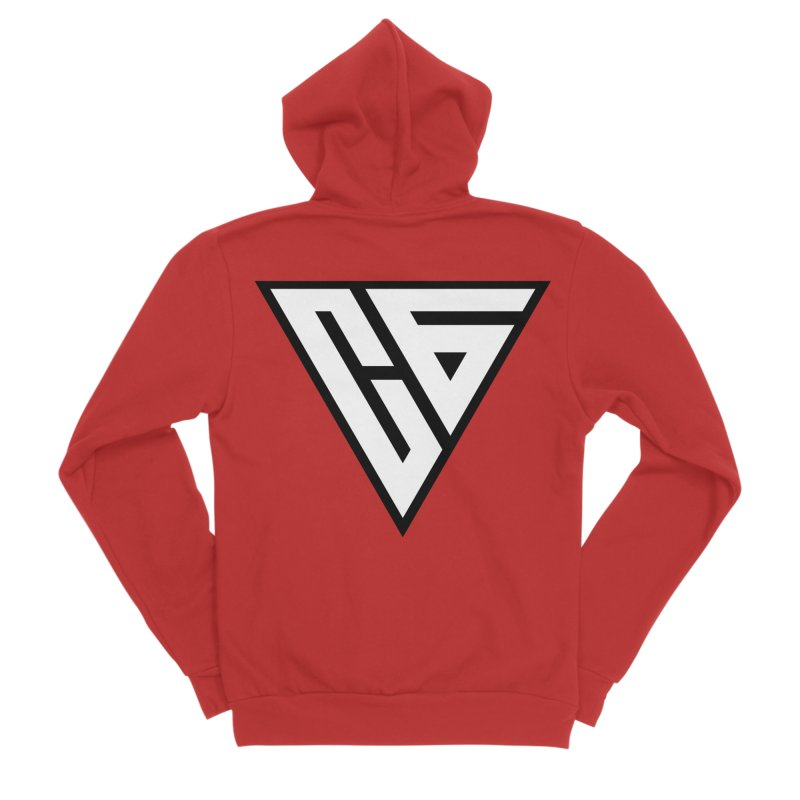 Carter Gaming   Icon Women's Zip-Up Hoody by MELOGRAPHICS