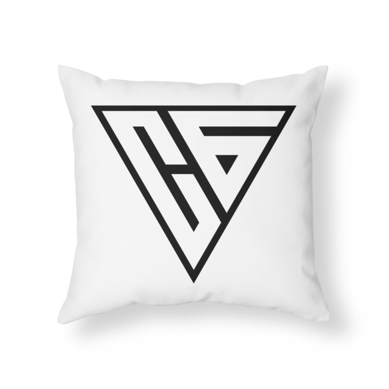 Carter Gaming   Icon Home Throw Pillow by MELOGRAPHICS