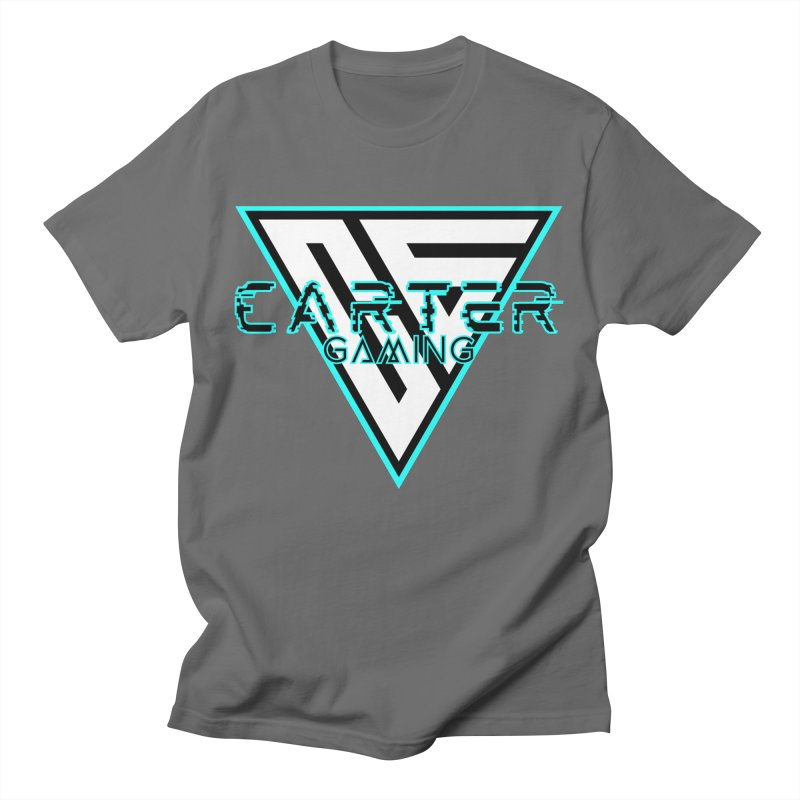 Carter Gaming | Teal Men's T-Shirt by MELOGRAPHICS