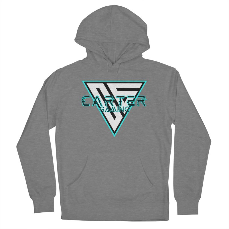 Carter Gaming | Teal Women's Pullover Hoody by MELOGRAPHICS