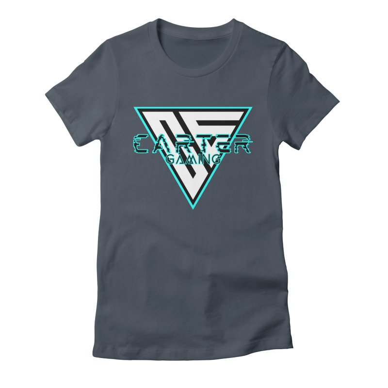 Carter Gaming | Teal Women's T-Shirt by MELOGRAPHICS