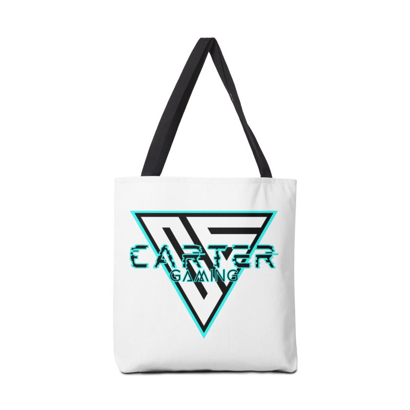 Carter Gaming   Teal Accessories Bag by MELOGRAPHICS