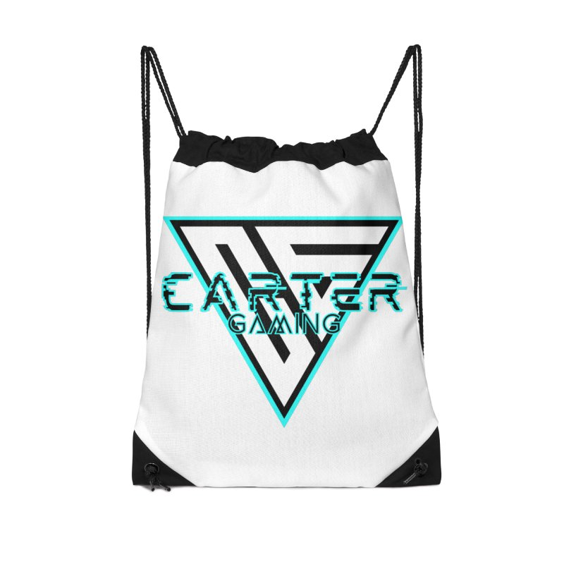 Carter Gaming | Teal Accessories Bag by MELOGRAPHICS