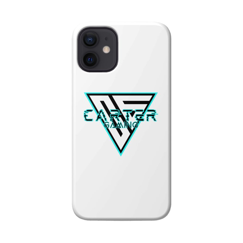 Carter Gaming | Teal Accessories Phone Case by MELOGRAPHICS