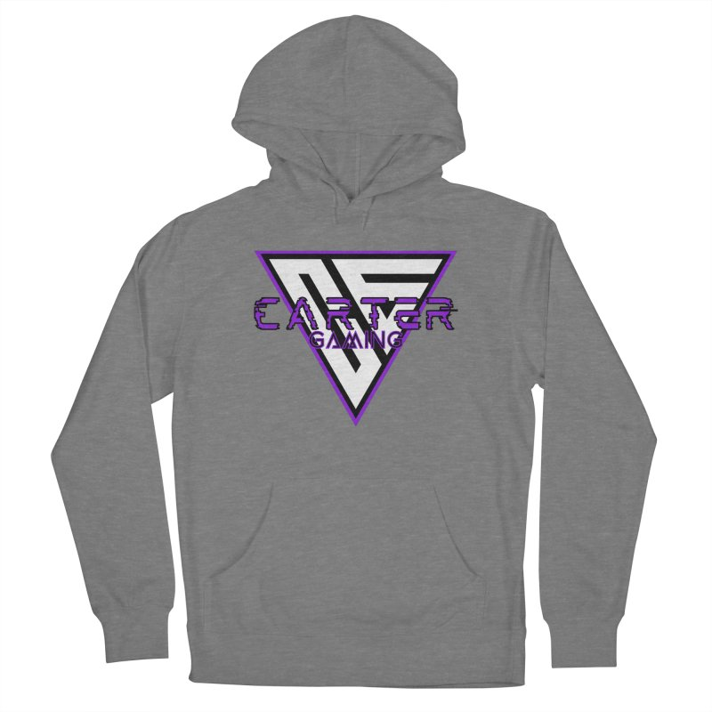 Carter Gaming | Purple Women's Pullover Hoody by MELOGRAPHICS