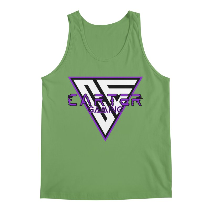 Carter Gaming | Purple Men's Tank by MELOGRAPHICS