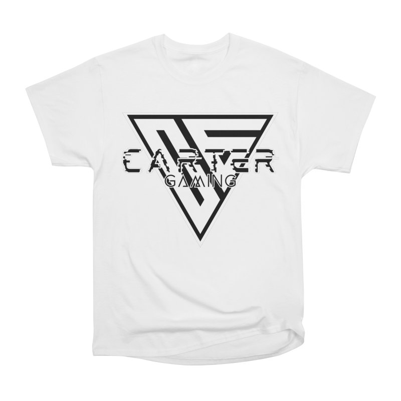 Carter Gaming   Black & White Women's T-Shirt by MELOGRAPHICS