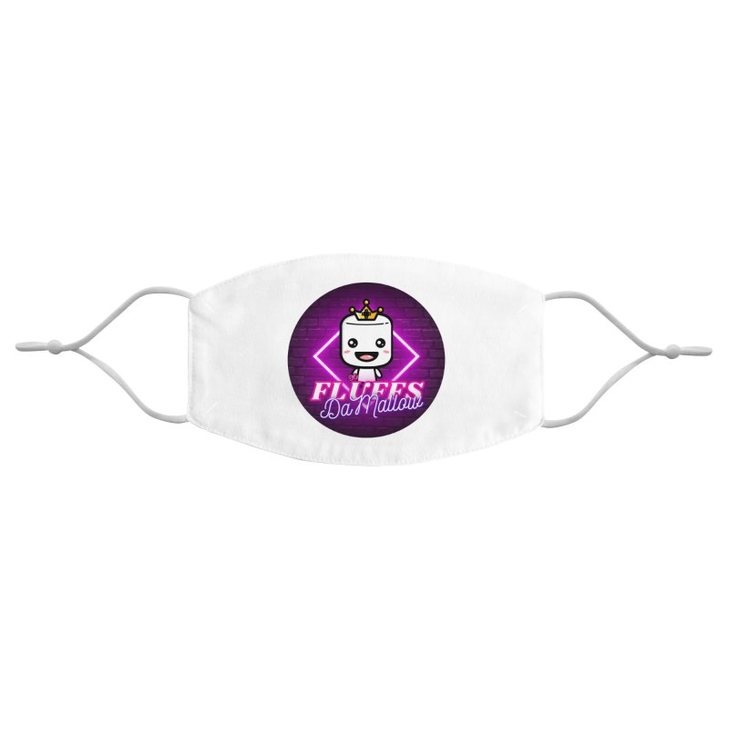 FluffsDaMallow - Circle   Carter Gaming Accessories Face Mask by MELOGRAPHICS