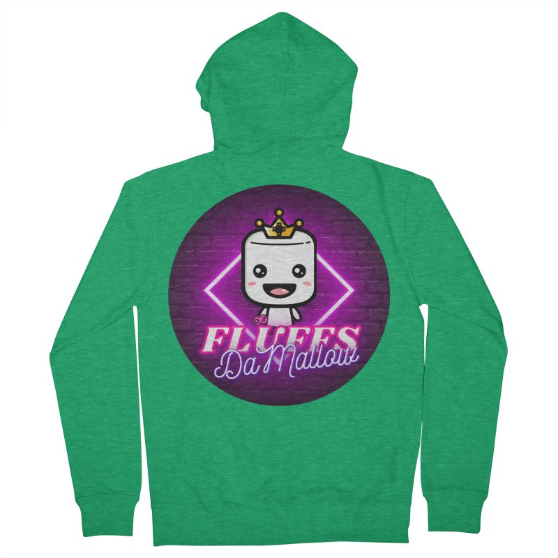 FluffsDaMallow - Circle | Carter Gaming Women's Zip-Up Hoody by MELOGRAPHICS