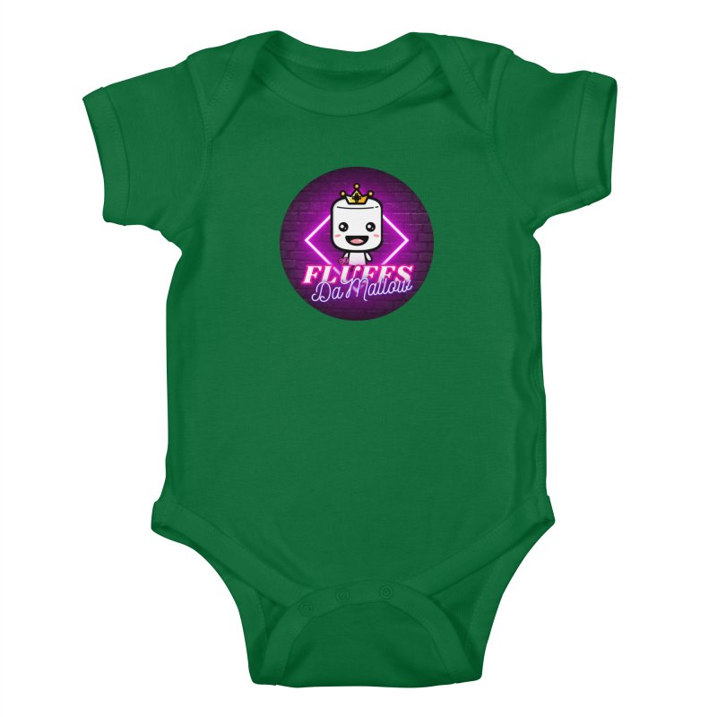 FluffsDaMallow - Circle | Carter Gaming Kids Baby Bodysuit by MELOGRAPHICS