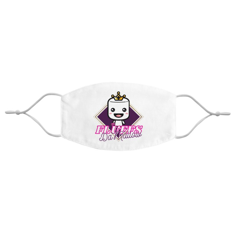 FluffsDaMallow - Diamond | Carter Gaming Accessories Face Mask by MELOGRAPHICS