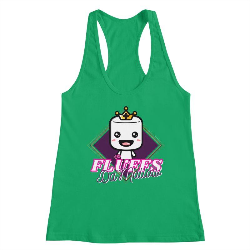 FluffsDaMallow - Diamond | Carter Gaming Women's Tank by MELOGRAPHICS