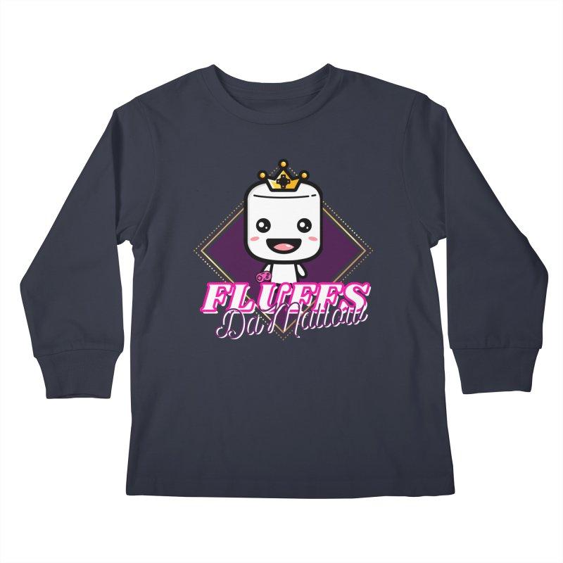 FluffsDaMallow - Diamond | Carter Gaming Kids Longsleeve T-Shirt by MELOGRAPHICS