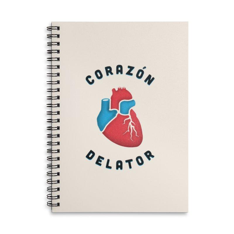 Corazon Delator Accessories Notebook by MPM Shop