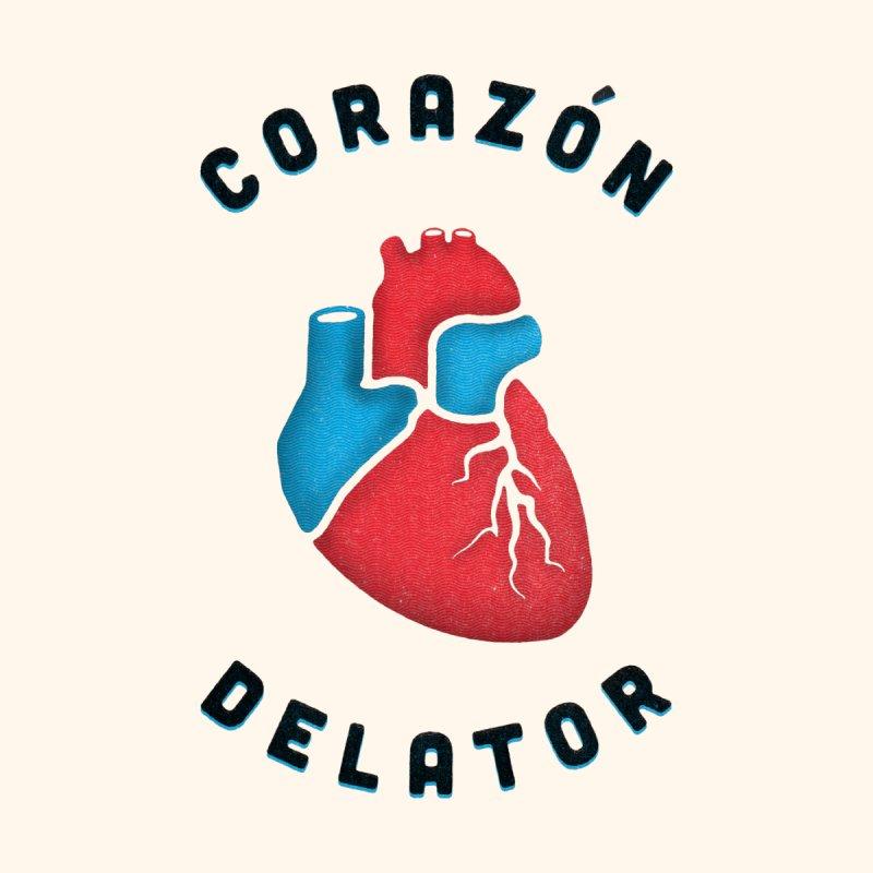 Corazon Delator Men's T-Shirt by MPM Shop