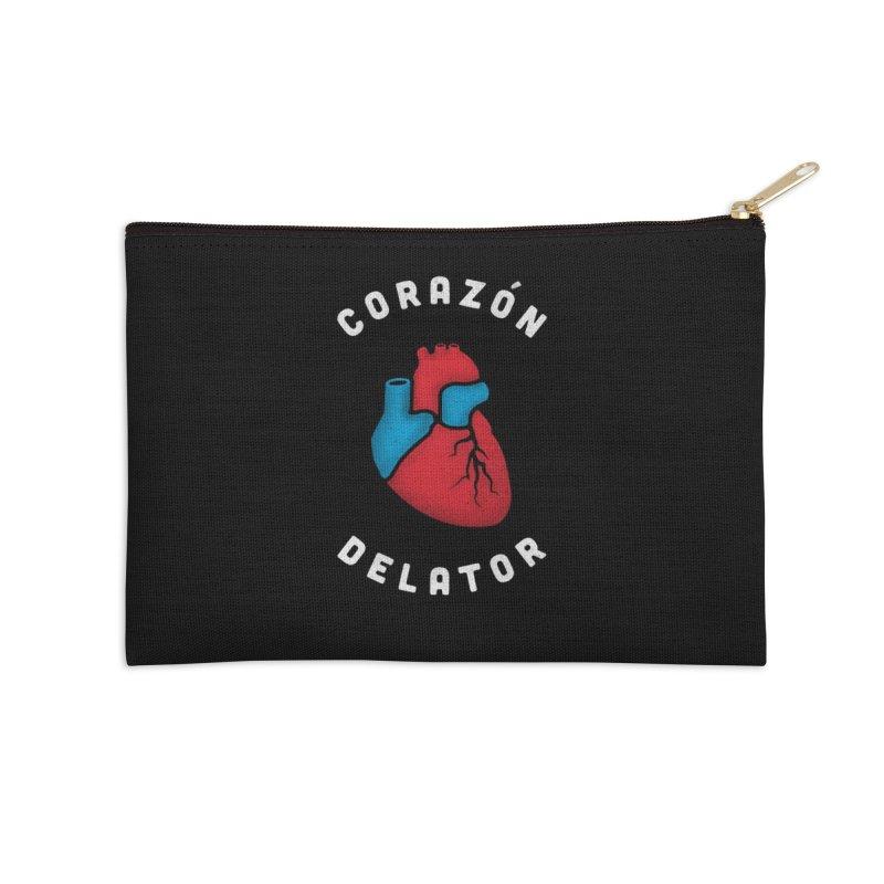 Corazon Delator V2 Accessories Zip Pouch by MPM Shop