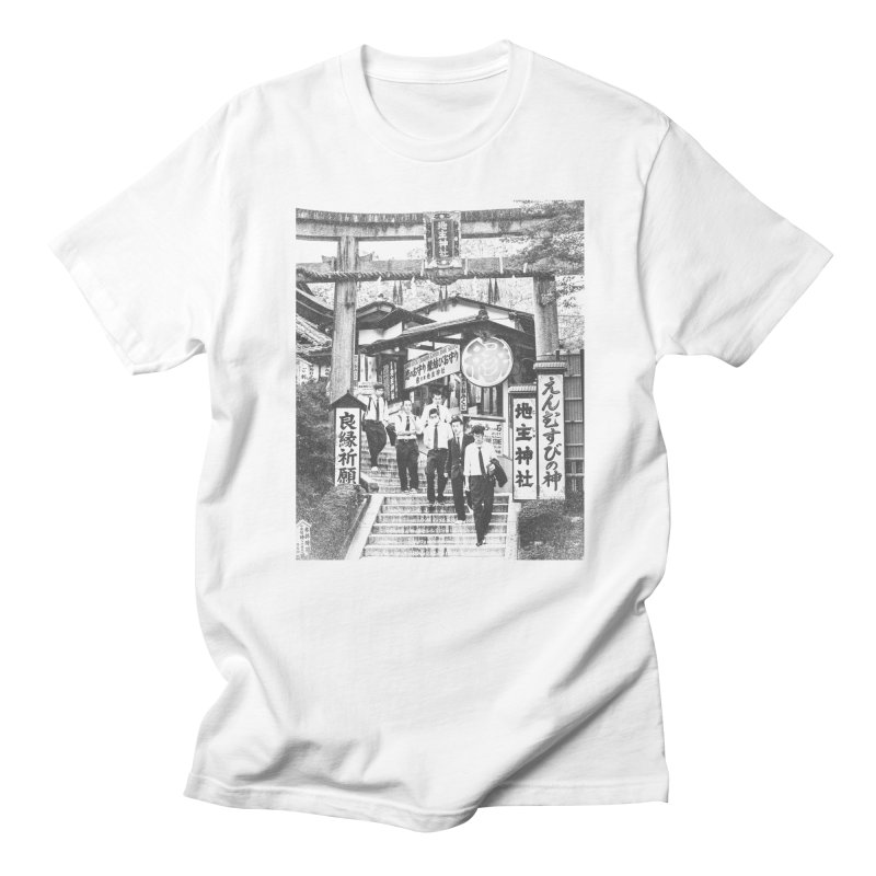 Feeling lucky in Kyoto in Men's Regular T-Shirt White by MPM Shop