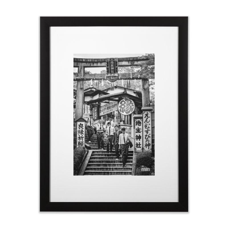 Feeling lucky in Kyoto Home Framed Fine Art Print by MPM Shop
