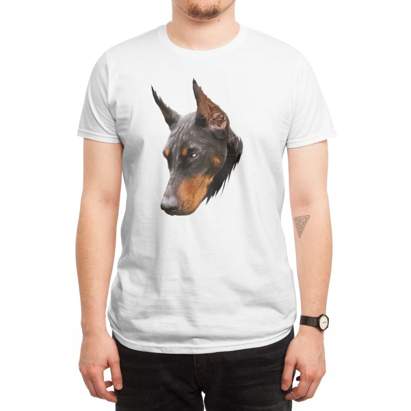 DOBERMAN Men's T-Shirt by melvish's Artist Shop