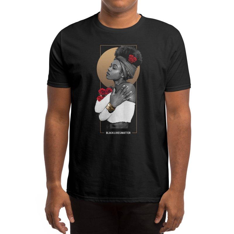 Black Lives Matter Men's T-Shirt by melvish's Artist Shop